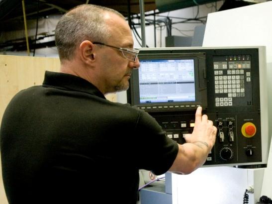 CNC setting